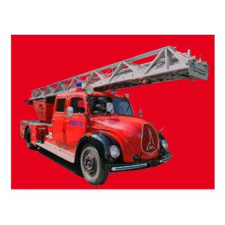 Fire brigade card