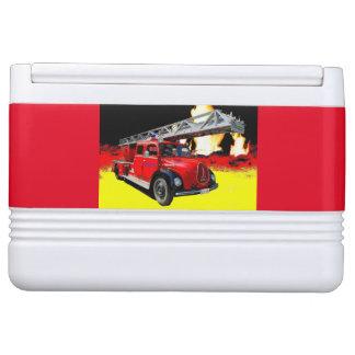 Fire-brigade cold box