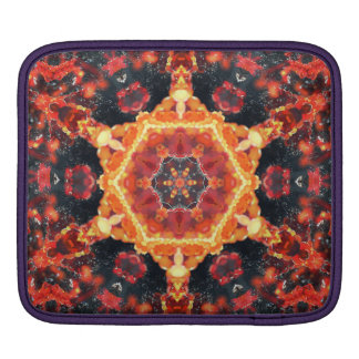 Fire Bubbles Mandala Sleeves For iPads