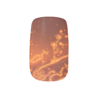 Fire Bug Minx Nail Art