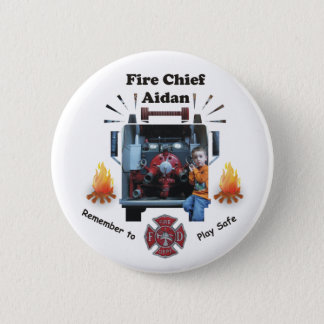 Fire Chief - Custom Button