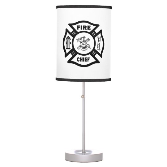Fire Chief Desk Lamp