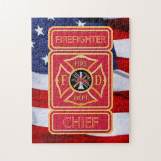 Fire Chief Jigsaw Puzzle