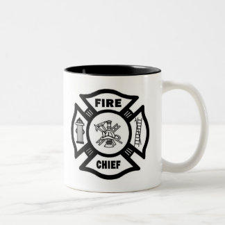 Fire Chief Two-Tone Coffee Mug