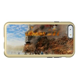 Fire - Cliffside fire 1907 Incipio Feather® Shine iPhone 6 Case