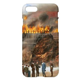 Fire - Cliffside fire 1907 iPhone 8/7 Case
