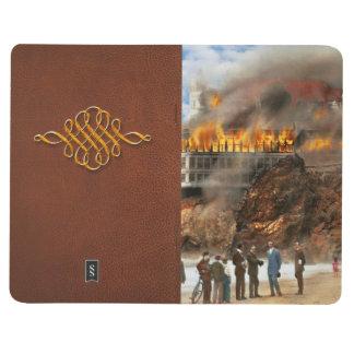 Fire - Cliffside fire 1907 Journal