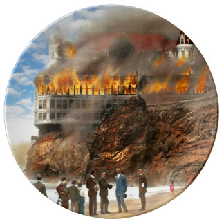 Fire - Cliffside fire 1907 Plate
