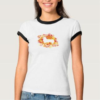 Fire Corgi Splatter Women's T-Shirt