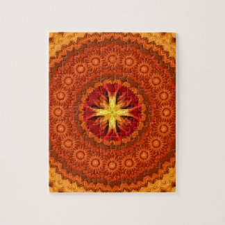 Fire Cross Mandala Puzzles