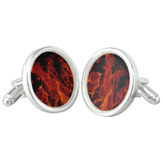 Fire Cuff Links