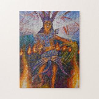 Fire dancer - Amazing Mexico Puzzle