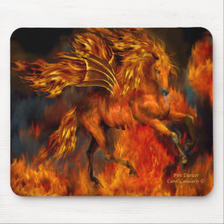 Fire Dancer Fantasy Mousepad