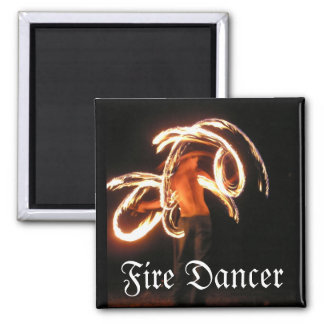 Fire Dancer Magnet