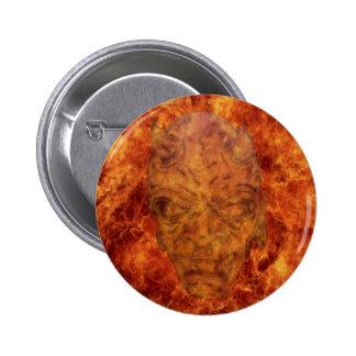 Fire Demon Round Button
