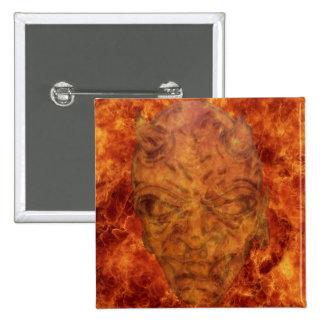 Fire Demon Square Button