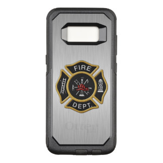 Fire Department Badge Deluxe OtterBox Commuter Samsung Galaxy S8 Case