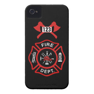 Fire Department Badge iPhone 4 Cases