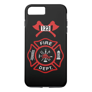 Fire Department Badge iPhone 8 Plus/7 Plus Case