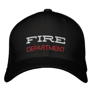FIRE, DEPARTMENT BASEBALL CAP