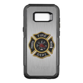 Fire Department Emblem Deluxe OtterBox Commuter Samsung Galaxy S8+ Case