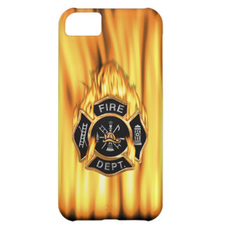 Fire Department Flames iPhone 5C Cover
