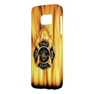 Fire Department Flames Samsung Galaxy S7 Case