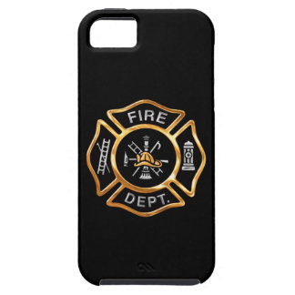 Fire Department Gold Badge iPhone 5 Cover