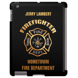 Fire Department Gold Name Template