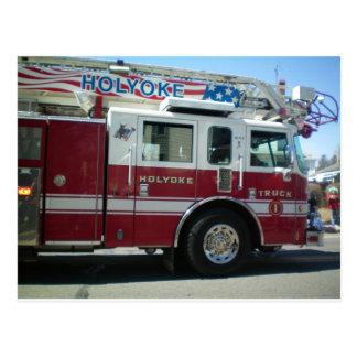 Fire Department Postcard
