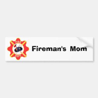 Fire Dept. Design Bumper Sticker