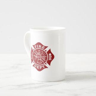 Fire Dept / Firefighter Bone China Mug