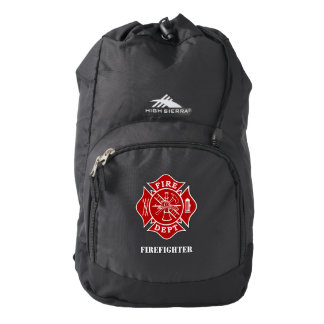 Fire Dept / Firefighter High Sierra Backpack