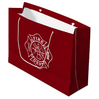 Fire Dept / Firefighter Large Gift Bag