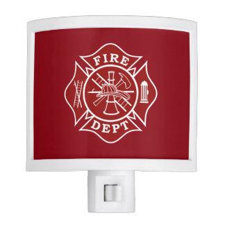 Fire Dept Future Firefighter Night Light