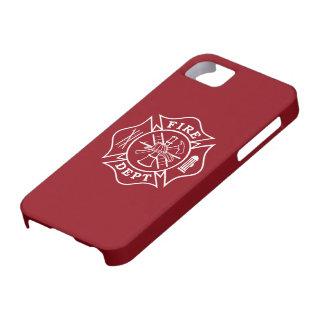 Fire Dept Maltese Cross iPhone case 5/5S/SE