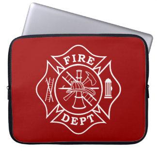 Fire Dept Maltese Cross Laptop Bag