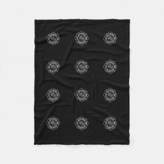 Fire Dept Maltese Cross Small Fleece Blanket