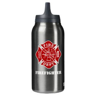 Fire Dept Maltese Cross Thermo Bottle