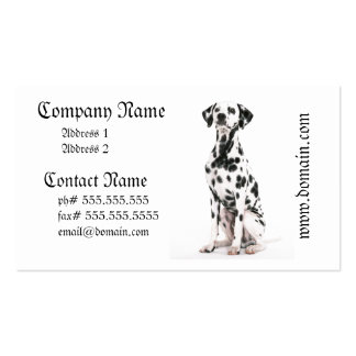 Fire Dog Business Cards