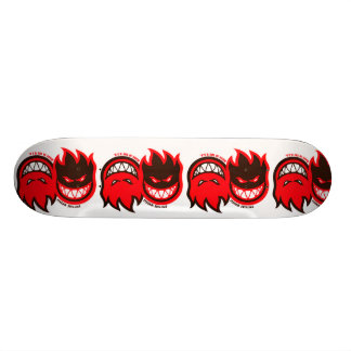 Fire double slide skate deck