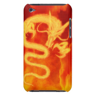 Fire Dragon Barely There iPod Cover