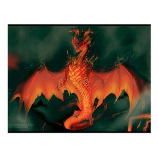Fire Dragon: Brimstone Postcard