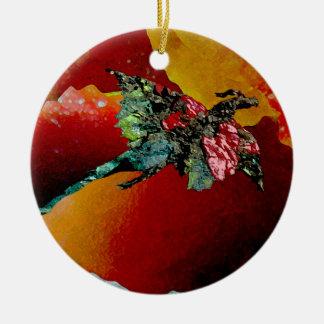 Fire Dragon Ceramic Ornament