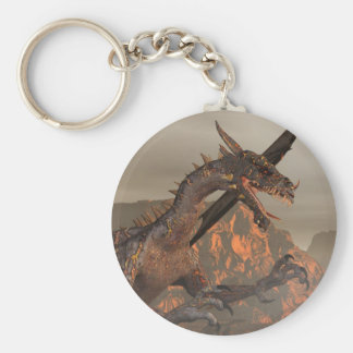Fire Dragon KeyChain