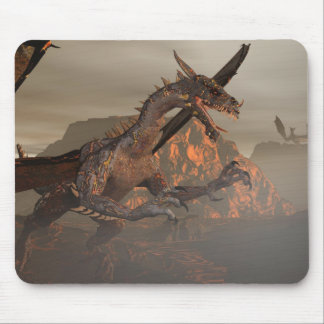 Fire Dragon Mousepad