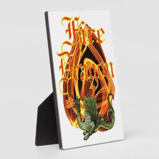 Fire Dragon Plaque (3) sizes