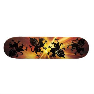 fire dragon Skateboard