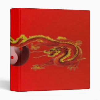 Fire Dragon with Yin-Yang Avery Binder