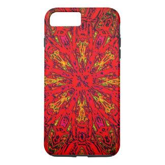FIRE Element Kaleido Pattern iPhone 7 Plus Case